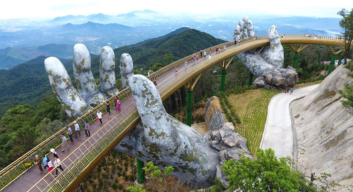 Breathtaking Bridge In Vietnam Has Just Been Opened And It Looks Like Something From Lord Of The Rings