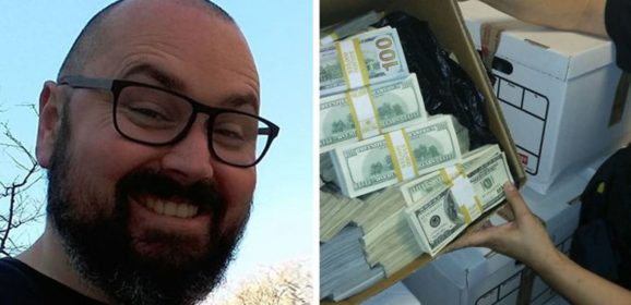 This Guy Received A Message Saying He'd Won $1.2M But Needs To Pay A Delivery Fee, So He Trolled The Scammer