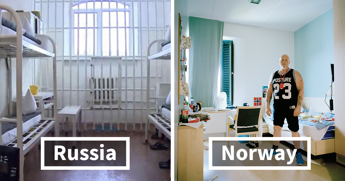 What Prison Cells Look Like Around The World