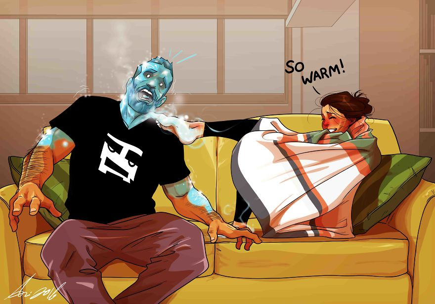Artist Illustrates Everyday Life With His Wife (30+ New Comics)