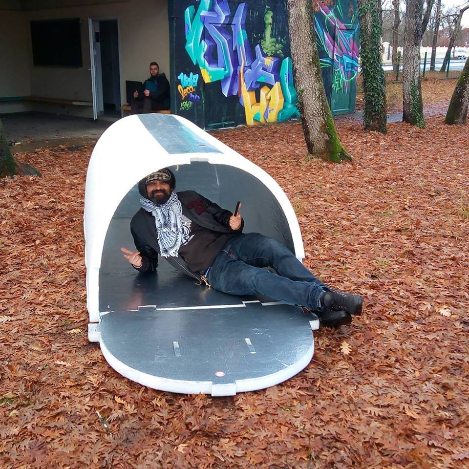 A French Engineer Invents Shelters For The Homeless That Retain Heat During Winter