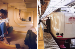 Japanese Sleeper Trains Interiors Are A Peaceful Oasis